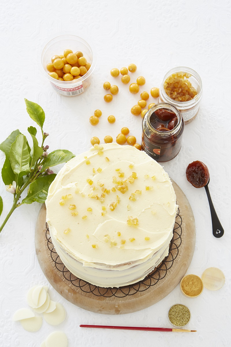 layer cake, icing, creamcheese, flvours, lemon, ch