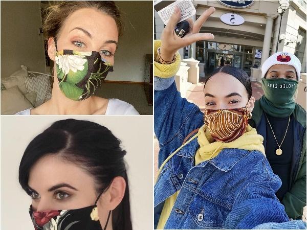 Hierdie plaaslike bekendes wys die maskers wat hul