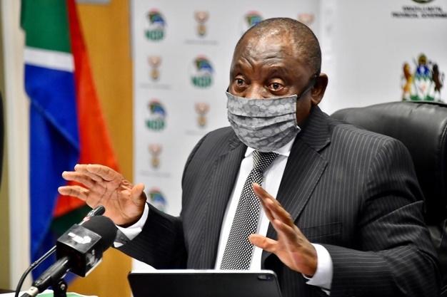 The president met met with Premier Sihle Zikalala