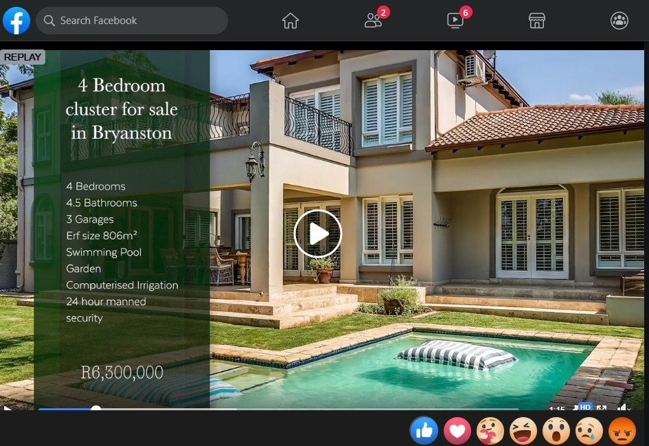 Pam Golding Properties Facebook Watch Party