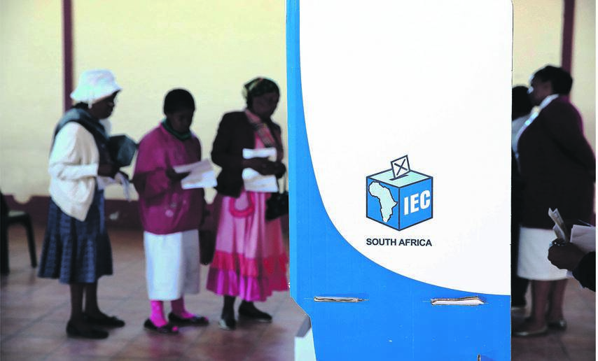 Change IS COMING THE IEC is looking into different ways of votingPHOTO: thuli dlamini / the times / gallo images