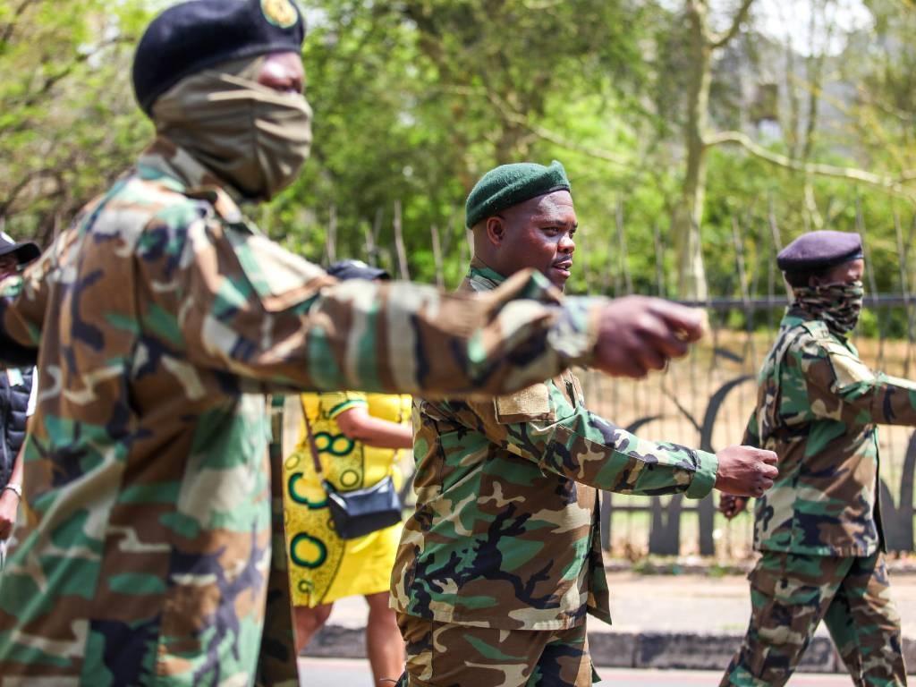 Members of Umkhonto we Sizwe Military Veterans Association (MKMVA). File Photo.