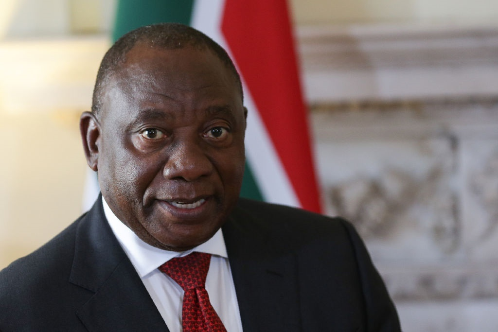 President Cyril Ramaphosa. (Daniel Leal-Olivas - WPA Pool/Getty Images)