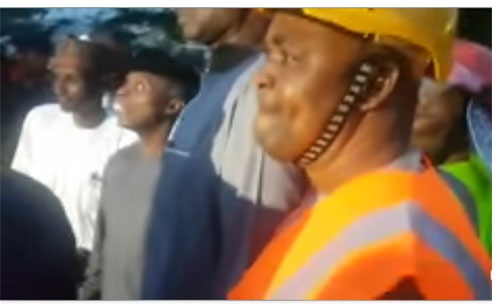 collapsed building abuja,