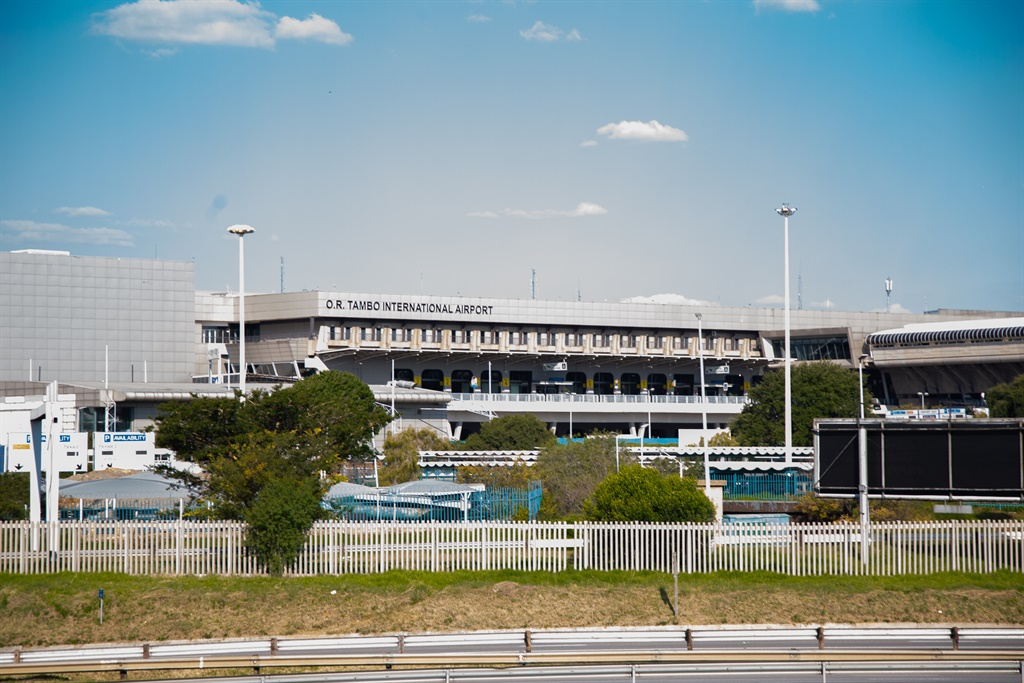 SARS customs officers confiscated R40 million in ingredients used to make drugs at OR Tambo International Airport.