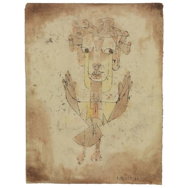 Paul Klee's Angelus Novus (Photo: Supplied)