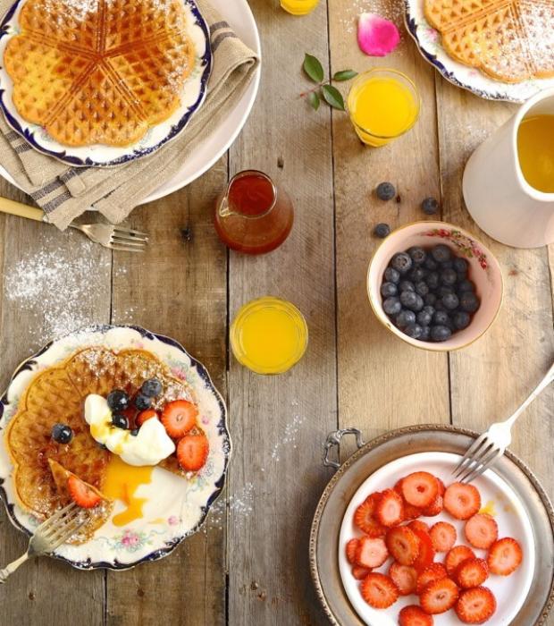 breakfast waffle recipes