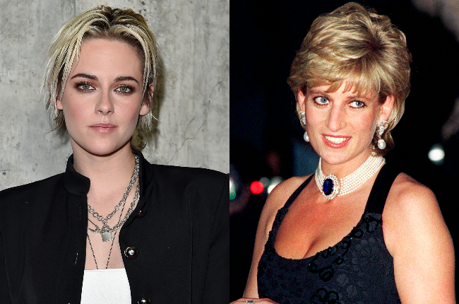 Kristen Stewart and Princess Diana (Photos: Getty/Gallo Images)