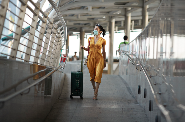 Woman traveling  (PHOTO: Getty Images/Gallo Images)