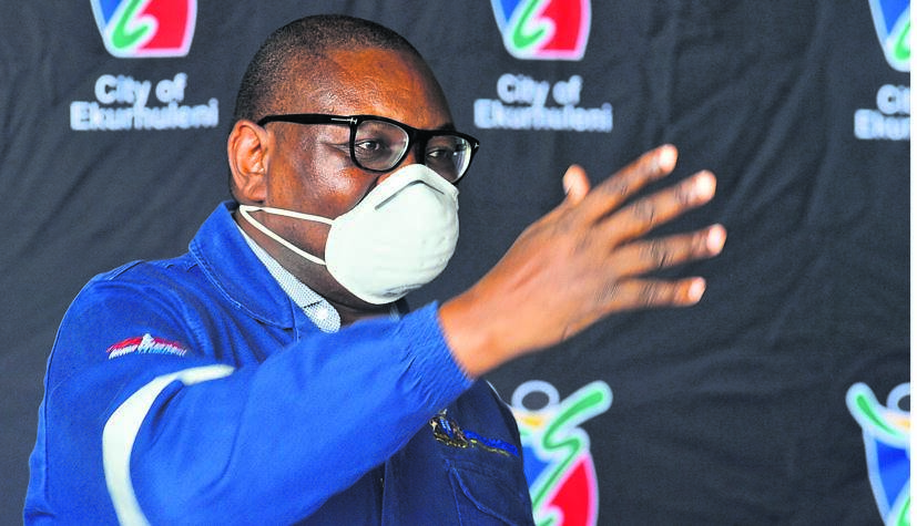 Gauteng Premier David Makhura has expressed his concerns about the growing number of Covid-19 coronavirus cases in the city of Ekurhuleni. Picture: Lucky Morajane