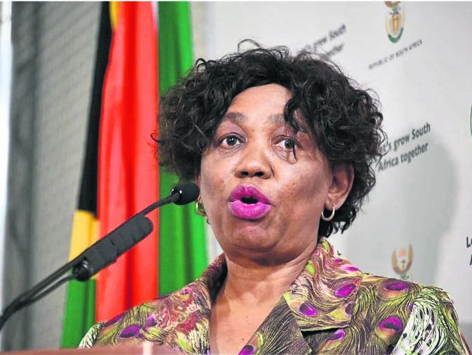 Basic Education Minister, Angie Motshekga.
