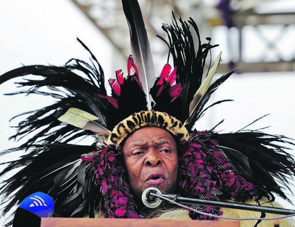 The late King Goodwill Zwelithini. Photo: TEBOGO LETSIE