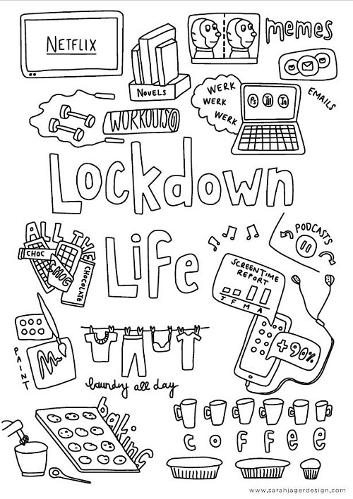 Add some colour to lockdown life with this free do