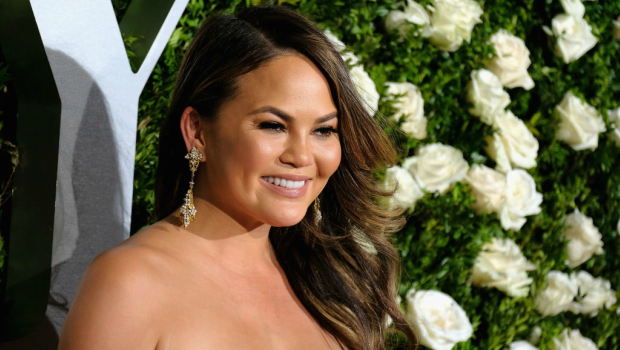 Chrissy Teigen attends the 2017 Tony Awards. Photographed by Jemal Countess/ Getty Images