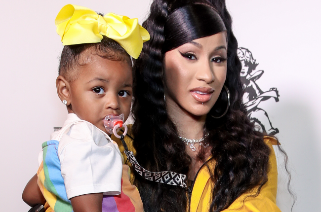 Cardi B and daughter Culture (Photo: Getty Images/Gallo Images)