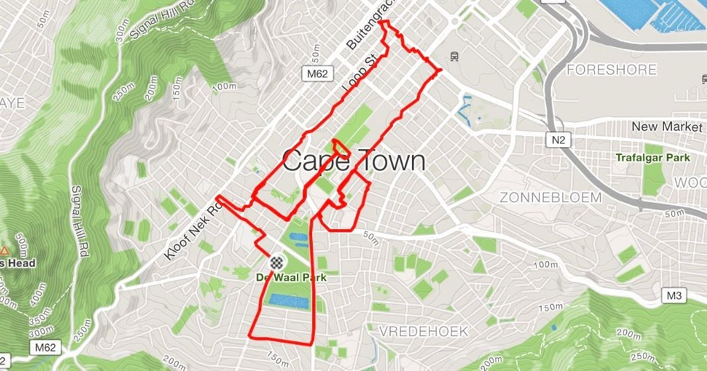 SA joggers run routes that create pictures - take a look at their cool GPS art