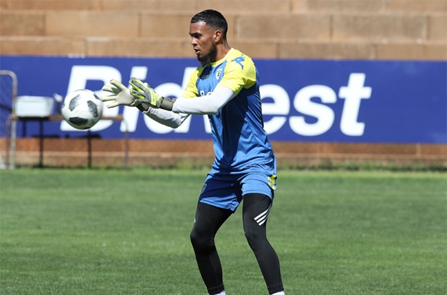 Brandon Peterson of Bidvest Wits during the Absa Premiership 2019/20 Bidvest Wits training at Sturrock Park, Johannesburg, on 02 January 2020.
