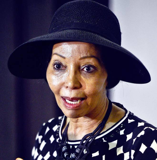 fighting back Bridgette Motsepe-Radebe speaks about the allegations levelled against her PHOTO:Cebile Ntuli
