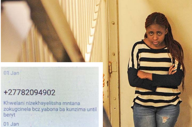 Karabo Tau and the message that was allegedly sent
