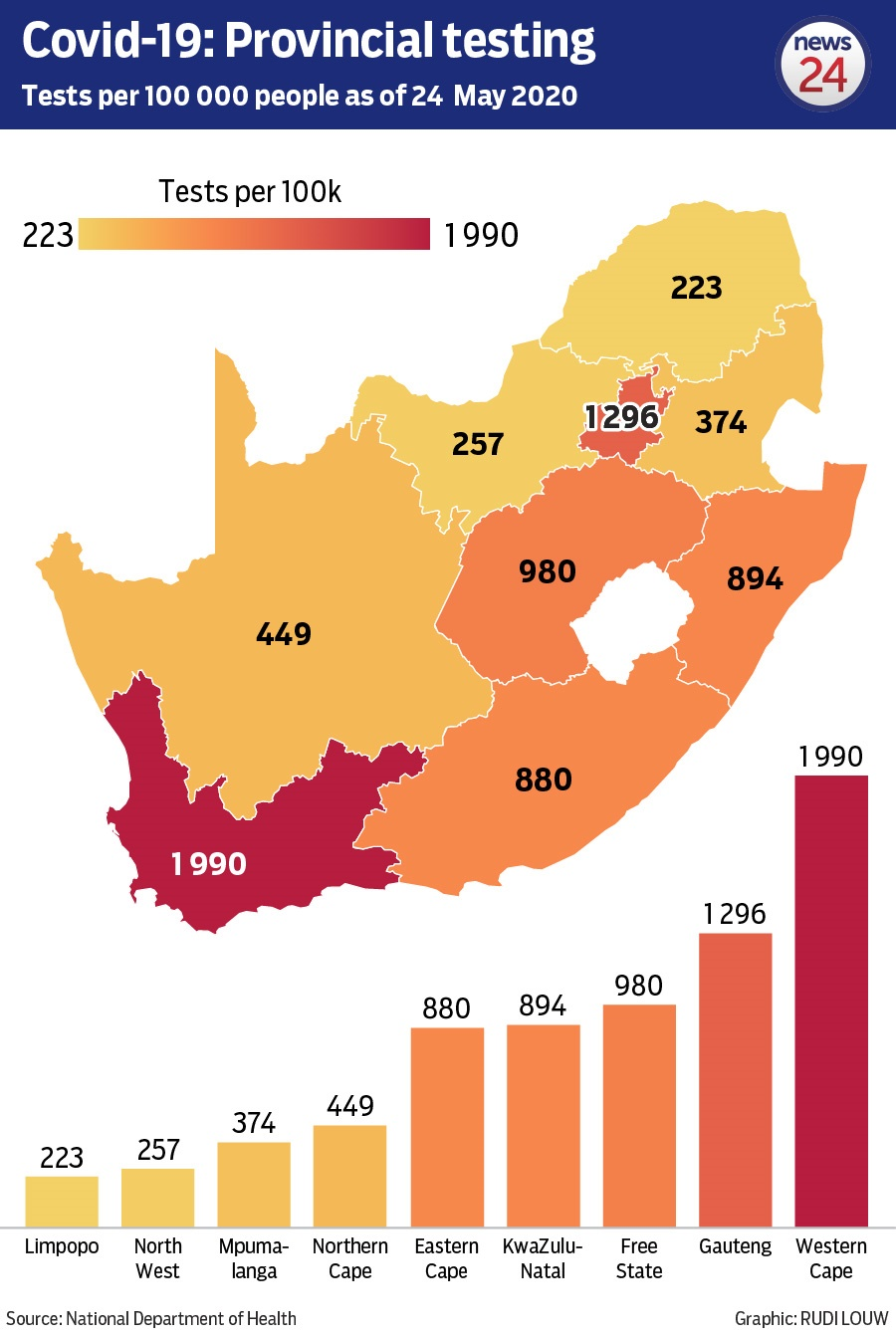 MAPPED | SA's 14 Covid-19 hotspots � and the areas emerging as new hotspots - News24