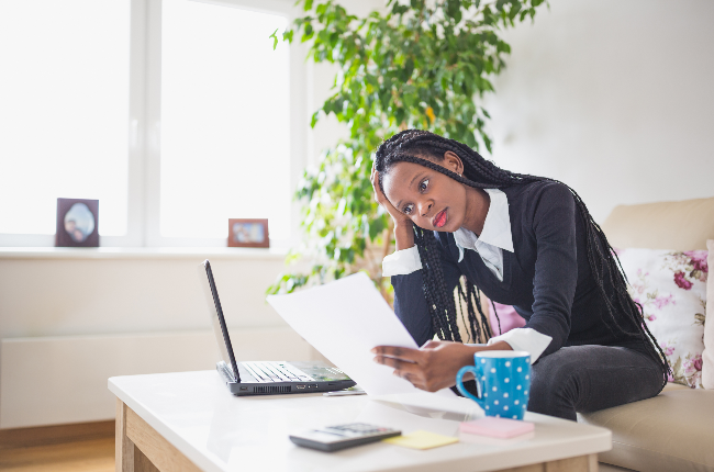 Woman working from home (PHOTO: Getty Images)