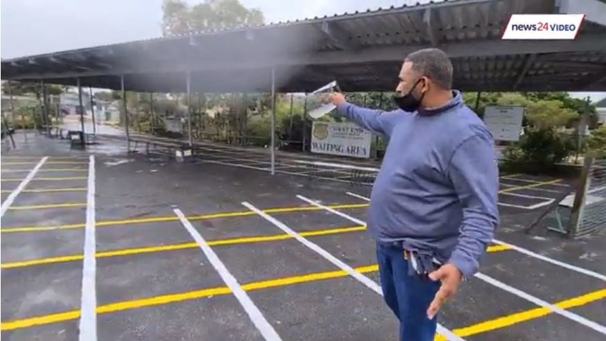WATCH | Special lanes, painted space: How one Cape Town school has prepared for reopening - News24