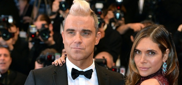 Robbie and Ayda Williams. (Photo: Getty Images)