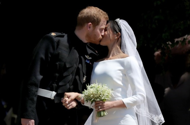 Prince Harry and Meghan Markle's Wedding. (PHOTO: Getty Images)