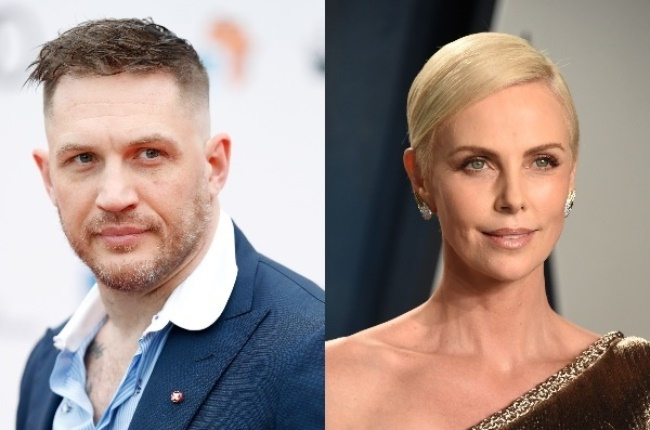 Tom Hardy and Charlize Theron. (Photo: Getty/Gallo Images)