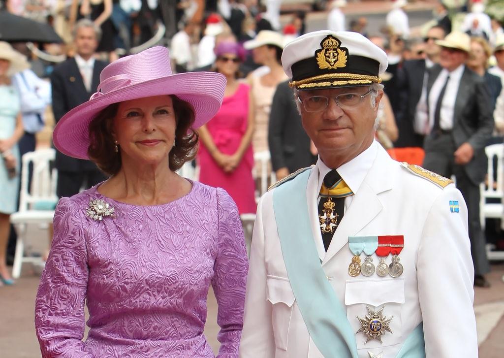 Swede se koningin Silvia en koning Carl XVI Gustaf
