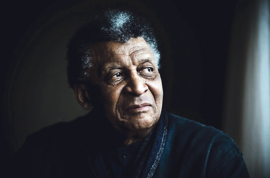Abdullah Ibrahim spends most of his time practisin