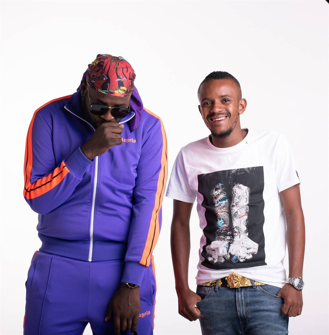 The Scorpion Kings Maphorisa and Kabza De Small are using their unique talents to spread awareness around the pandemic through song. Picture: Supplied