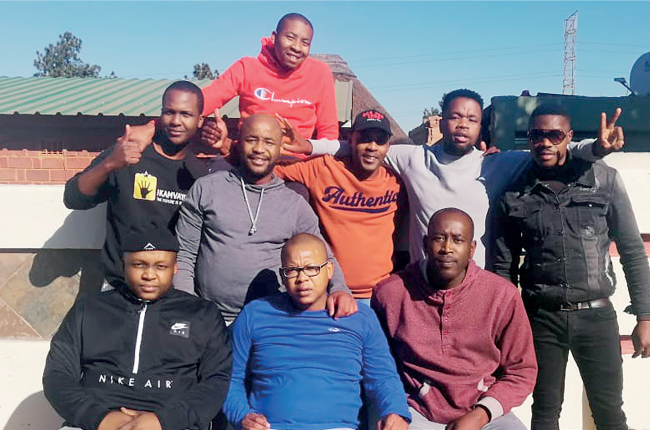 Naledi club brothers standing together