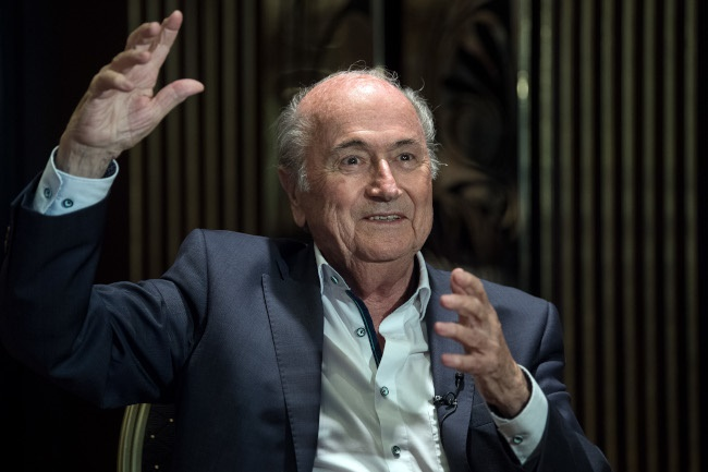 Sepp Blatter (Photo by Federico Gambarini/picture alliance via Getty Images)