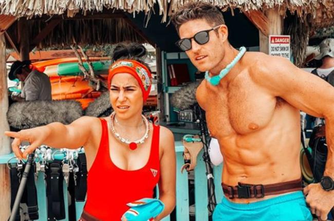 Nadia Jaftha and Trevor Lagerway (Photo: Instagram/@thelagerway)