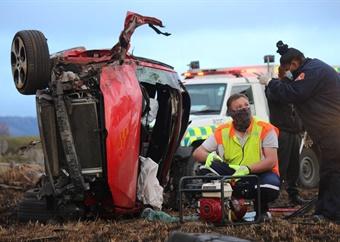 WATCH | One person dies in Ladysmith crash