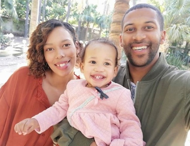 Libur Pieterse and her family