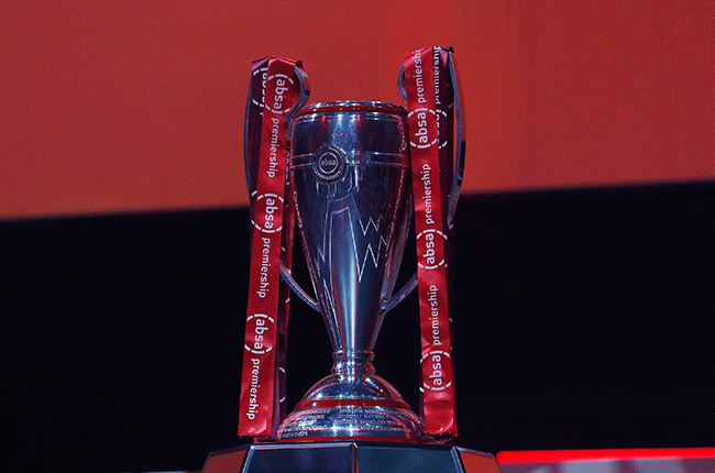 Absa Premiership trophy (Gallo Images)