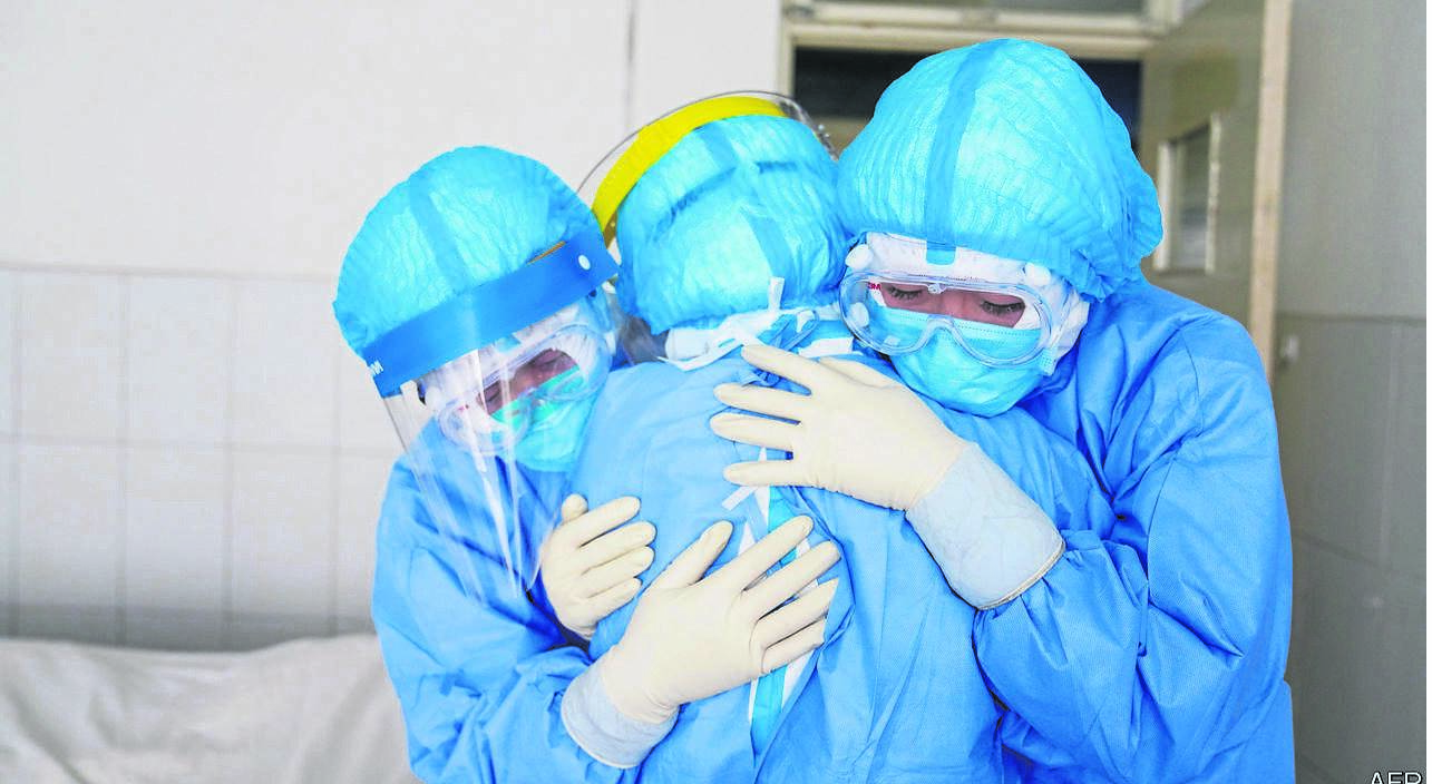 SA's frontline medical staff are being advised to care for their mental health as they battle the Covid-19 pandemic.
