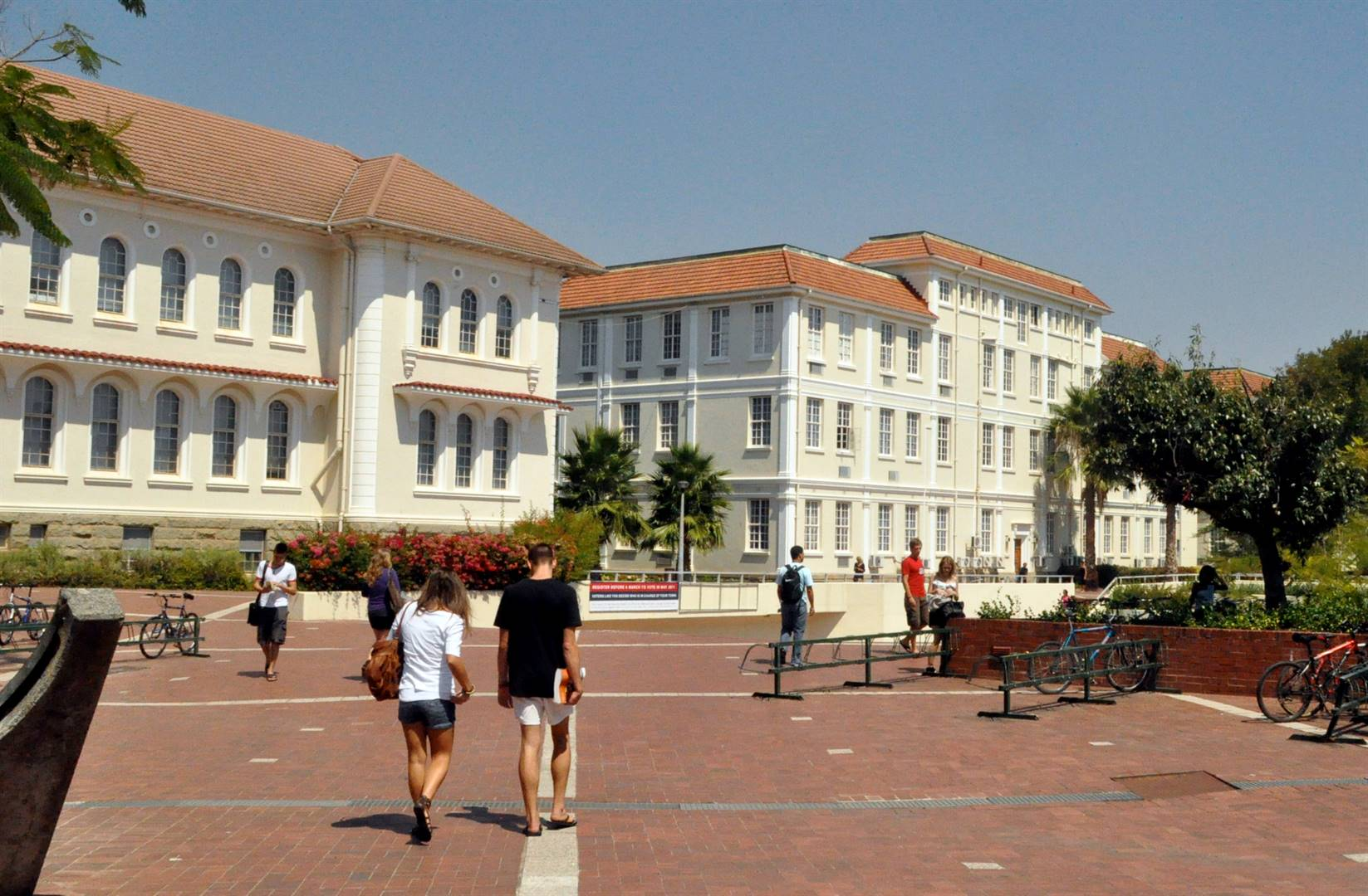 A part of the campus of  Stellenbosch university. (Photo: Getty Images)
