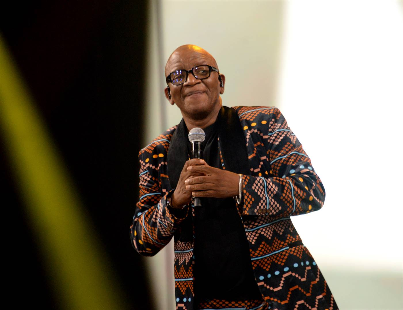 Lebo M says his birthday wish is to have retrial of his son's death. Photo: Oupa Bopape / Gallo Images