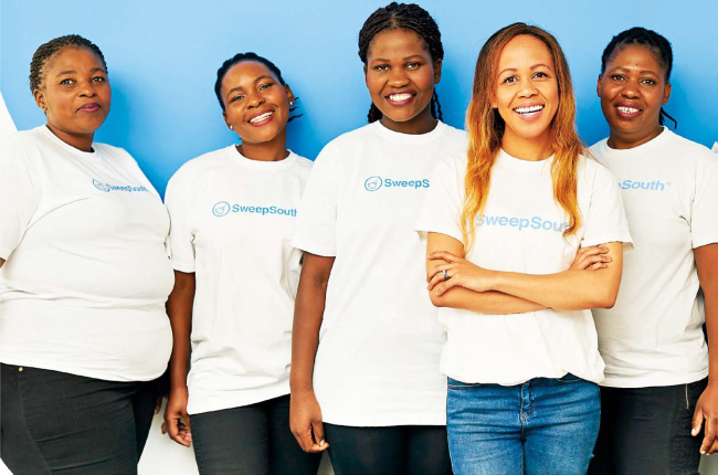 SweepSouth has created over 20 000 jobs for helpers.