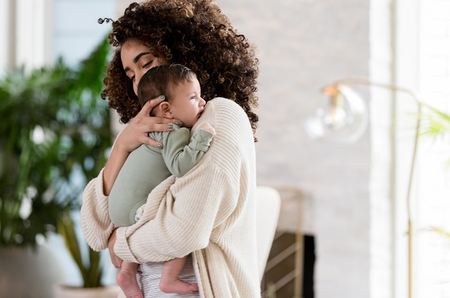 """""""If a baby shows signs of fever or other symptoms, it's important to see a GP or paediatrician to rule out other medical causes."""" Photo: Getty Images"""