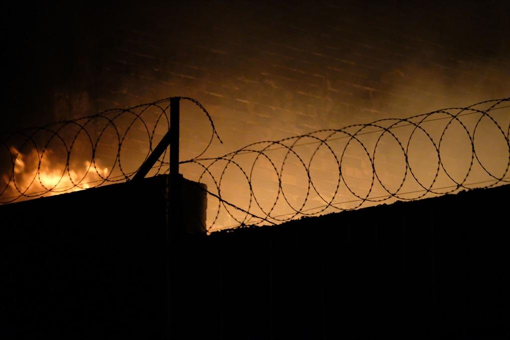 JOHANNESBURG, SOUTH AFRICA - JULY 11: A migrant au
