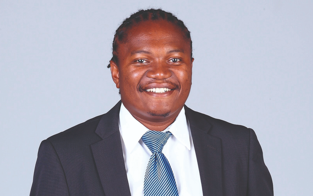 Andile Ntingi is the chief executive and co-founder of GetBiz, an e-procurement and tender notification service. (Photo: Finweek)