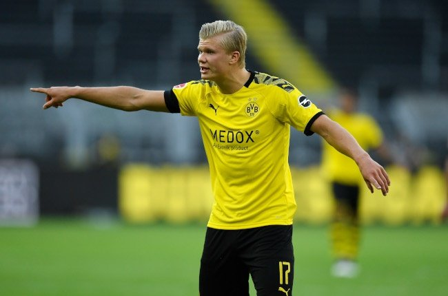 Erling Braut Haaland (Photo by Alexandre Simoes/BorussiaDortmund via Getty Images)