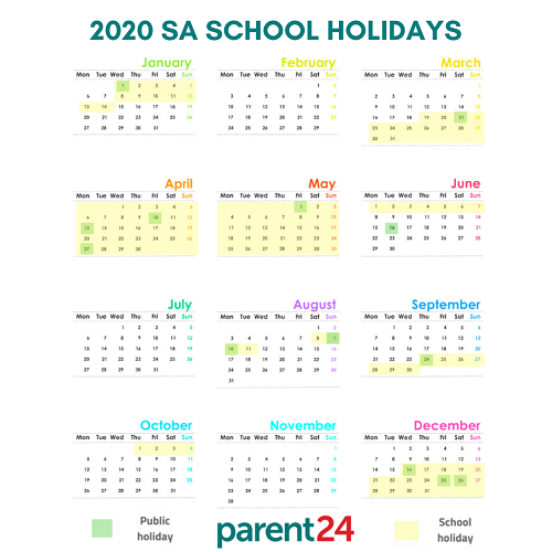 The amended 2020 school calendar is out!