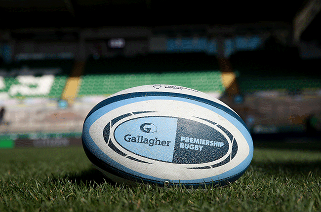 English Premiership rugby ball