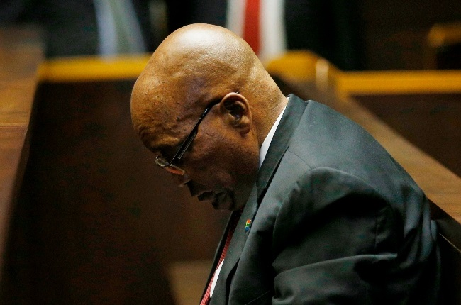 Former president Jacob Zuma was sentenced to 15 months in prison for being in contempt of court.