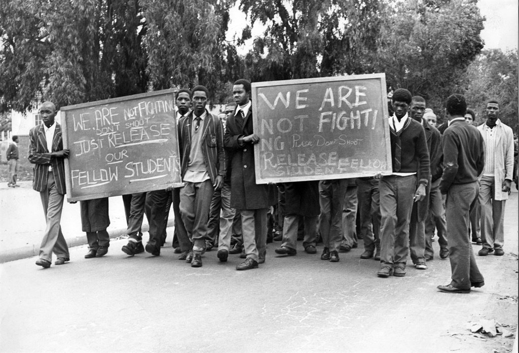 Students march in solidarity with their arrested comrades (Photo: Independent News Archive/ Supplied)